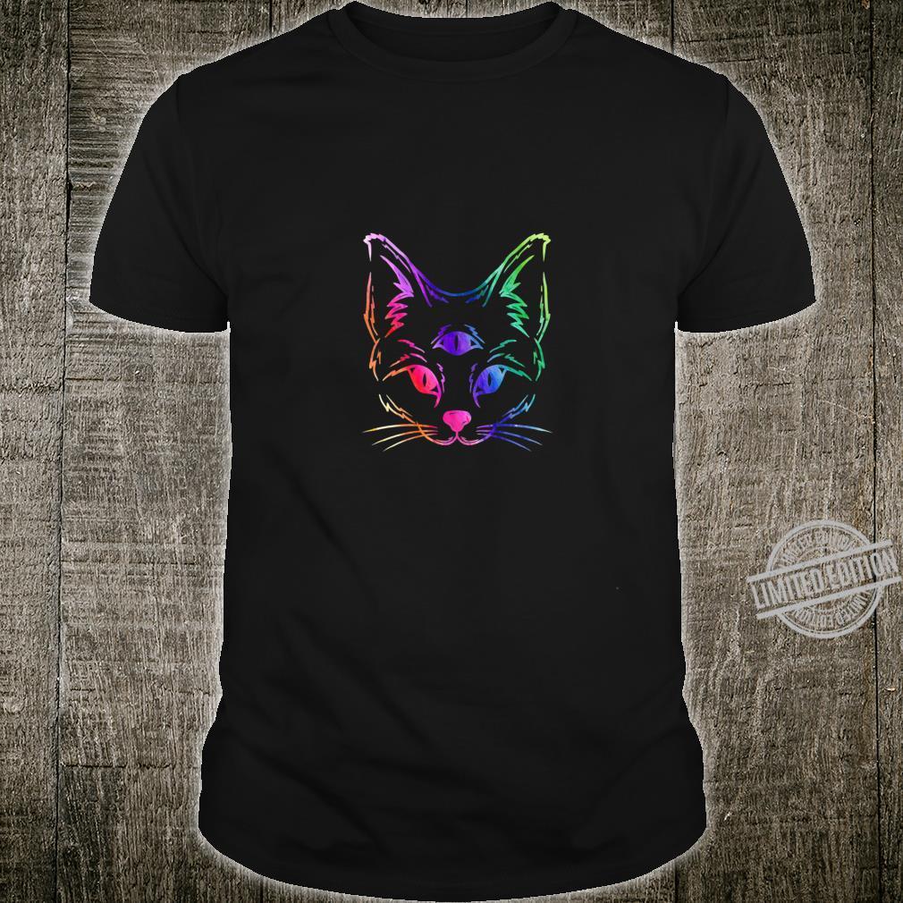 Awakened Cat Third Eye Shirt