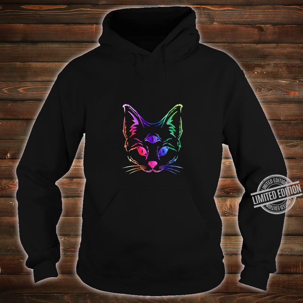 Awakened Cat Third Eye Shirt hoodie