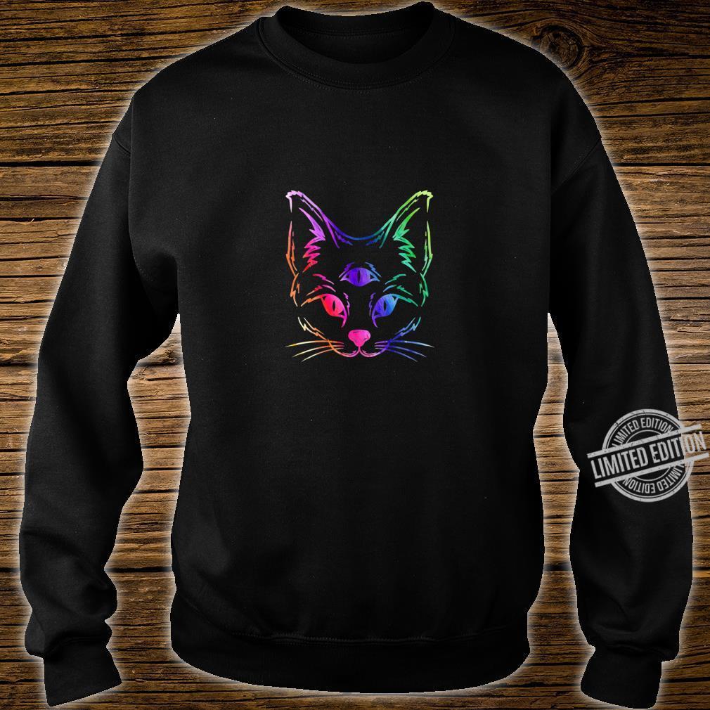 Awakened Cat Third Eye Shirt sweater