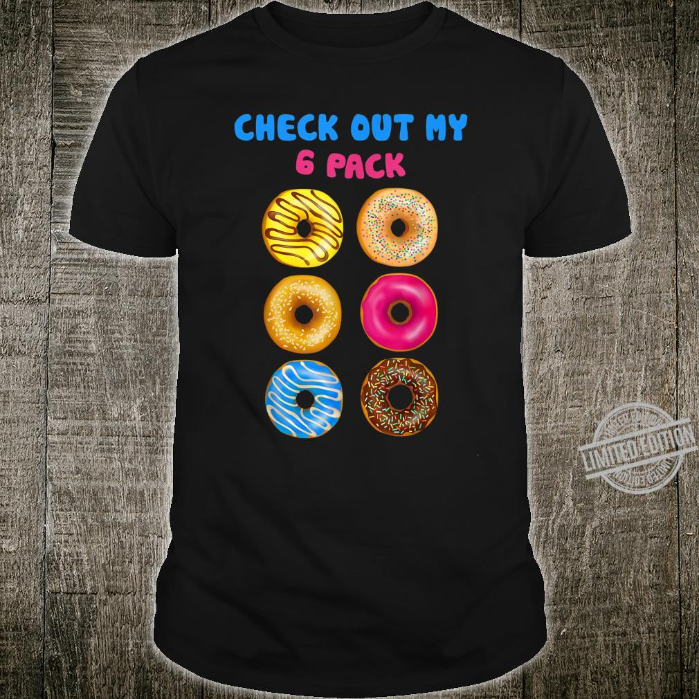 Cinco De Mayo Check Out My 6 Pack donut gym Shirt