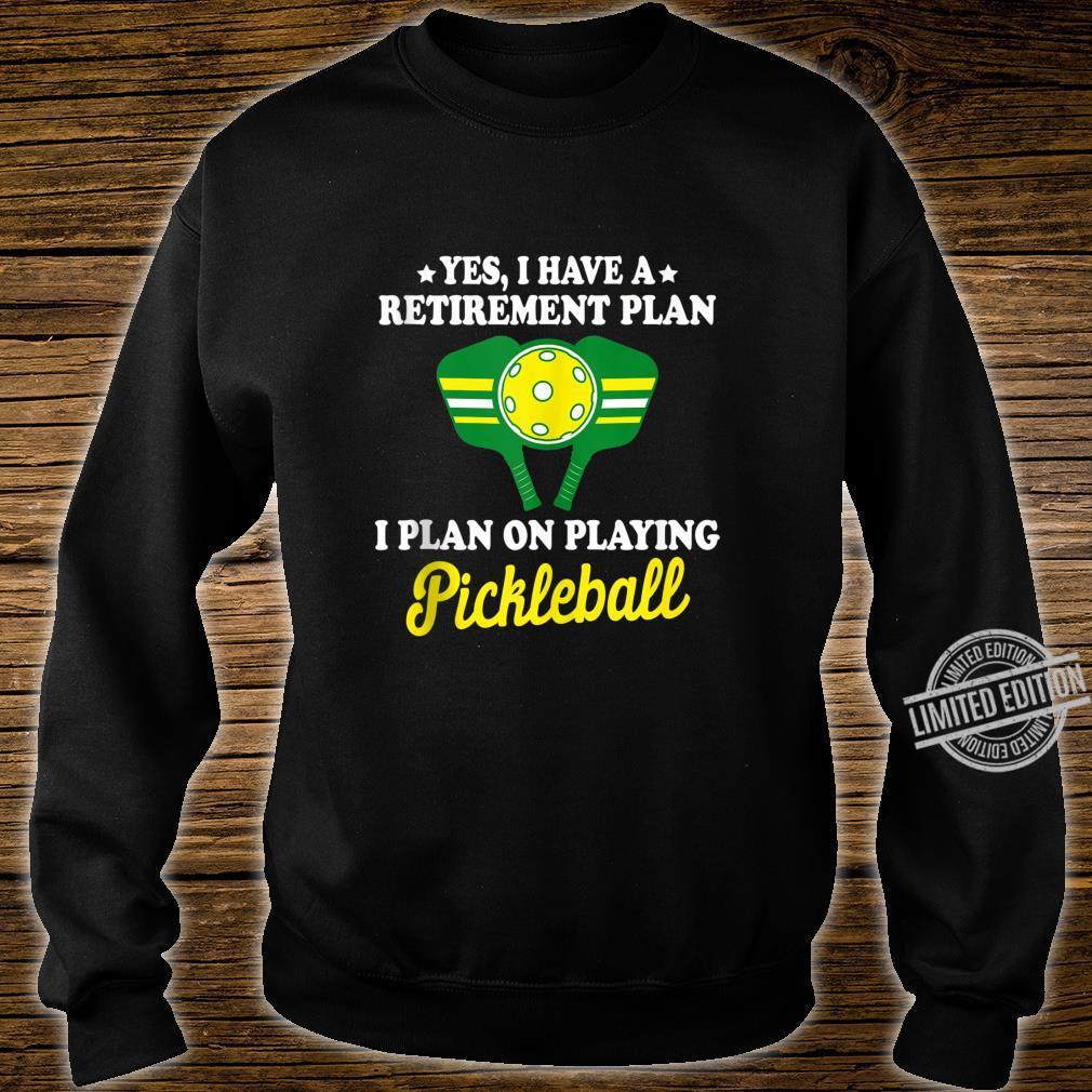 Pickleball Retirement Shirt Grandpa Dad Shirt sweater