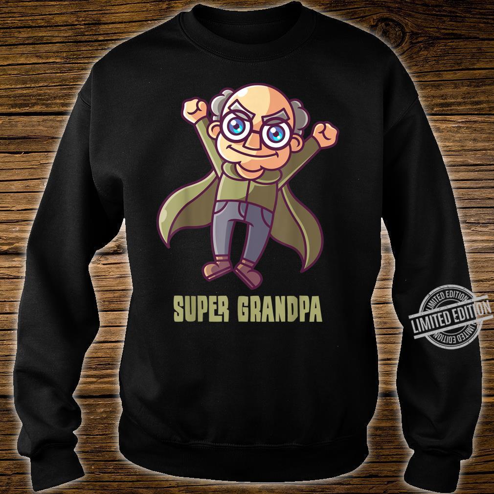 Super Grandpa I Superhero Granddad Heroes Shirt sweater